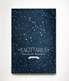 I have always been interested in astrology, zodiac signs personality traits and constellations. Thats why I had this idea of making an artprint for