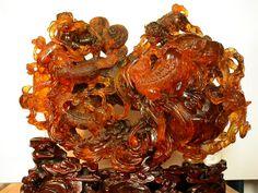 antique amber sculpture | Flickr - Photo Sharing!