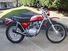 Honda sl100... great bikes if there are ran right...... mine doesn't run right.