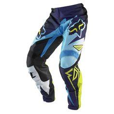 Fox Racing 180 Costa Men's Motocross/Off-Road/Dirt Bike Motorcycle Pants - Blue / Size 34 Dirt Bike Pants, Dirt Bike Gear, Dirt Bike Racing, Dirt Biking, Fox Racing, Motorcycle Riding Gear, Motorcycle Jacket, Off Road Dirt Bikes, Fox Head