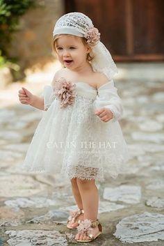Inspire Idea of Flower Girl Dress for Wedding Party, Part 14 Flower Girls, Flower Girl Dresses, Baby Girl Fashion, Fashion Kids, Little Girl Dresses, Girls Dresses, Baby Dress, Wedding Gowns, Kids Outfits