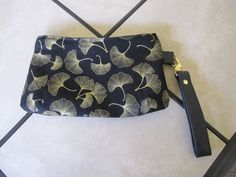 Black and Gold Wristlet by KanNDesignsForYou on Etsy