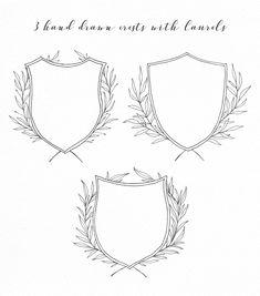 Wedding wreaths & laurels collection by Crocus Paperi on @creativemarket