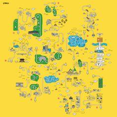 산책버스 코스맵 - BO HUY - KIM