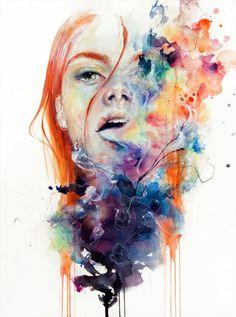 Emociones Abstractas... Agnes-Cecile | PM ART