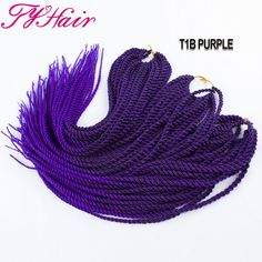 Twist Crochet Braid Hair 18 70g braids synthetic hair extensions ...