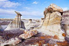 Bisti Badlands in New Mexico