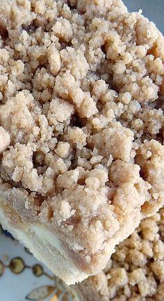 Cream Cheese Crumb Cake | Baking Blond
