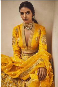 Bollywood Fashion 556616835195833123 - Mikali, in her late forties, became a teacher again in Al and Alethiea's startup school for magical students. Source by annestanislas Indian Look, Indian Ethnic Wear, Indian Gowns, Indian Attire, Indian Wedding Outfits, Indian Outfits, Nikkah Dress, Pakistani Dresses, Indian Designer Outfits