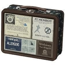 Portal 2 Warning Signs Tin Lunch Box - http://coolgadgetsmarket.com/portal-2-warning-signs-tin-lunch-box/