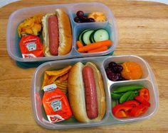 Lunch packed for 5 | packed in @EasyLunchboxes containers