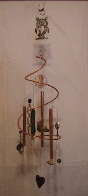 Copper Tubing Art create a copper mobile | copper, copper tubing and mobiles