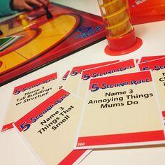Fabulous end to a great weekend #sunday #5secondrule #ellendegeneres #boardgames #dinkandtwink