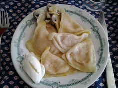 Savella Stechishin's Pickled Mushrooms (Marinovani Hryby) :  an appetizer (zakuska).  They're also great as a side for perogies.