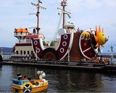 Real life Thousand Sunny and Mini Merry!