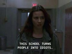 Freaks and Geeks quote Tv Show Quotes, Film Quotes, Sad Movie Quotes, Grunge Quotes, Freaks And Geeks, Def Not, Movie Lines, Quote Aesthetic, Mood Pics