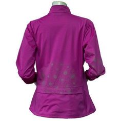 Add some bright color and a pretty, reflective dandelion print to a gray day with our technical softshell jacket. Workout Schedule, Softshell, Range Of Motion, Dandelion, Jackets For Women, Bright, Zipper, Gray, Knitting