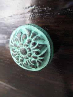 Knobs from hobby lobby!! (look at different patterns and get ideas)
