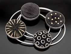 Sterling Silver and Polymer Clay - Grace Stokes Designs