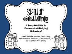 FREE Bully Prevention Book For The Elementary Classroom