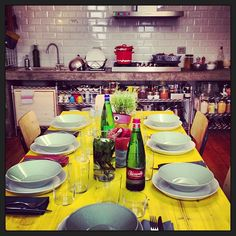 Tablesetting with Teema
