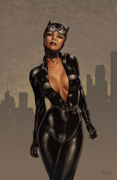 Catwoman by MitchFoust.deviantart.com - I want this to be my catwoman suit! it HAS TO BE my catwoman suit