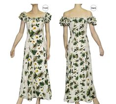Elegant Sweetheart Shirt &amp Matching Hawaiian Dress  Made in ...