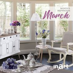 Welcome spring to your home-style! Discover inart's inspiration for March and recreate the look today. Read here: http://bit.ly/inart_MonthsInspiration_March2018 #inspiration