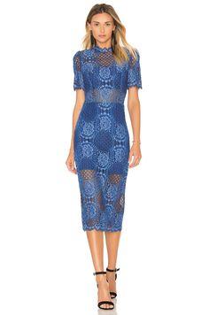 Alexis Delila Midi Dress in Passionate Blue