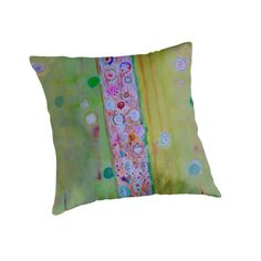 The Column by Heidi Capitaine #Throw Pillows