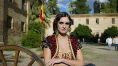 Paz Vega representó el mito de «Carmen» en la película de Vicente Aranda. Se rodó en Ronda, Córdba, Ecija, Osuna y Carmona.