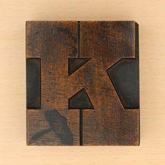 Letter k by Leo Reynolds