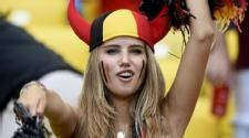 World Cup Fan Scores Modeling Gig From Cheering