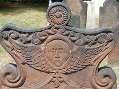 Tombstone Angels Folk Art | Found on graveaddiction.com