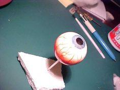 Realistic eyeball... Crayola Model Magic