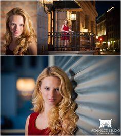 High school senior pictures in urban location | Milwaukee third ward| Westfield High School | Reminisce Studio by Miranda & Adam