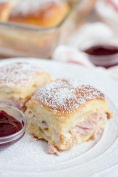 Monte Cristo Sliders are the classic sandwich, in