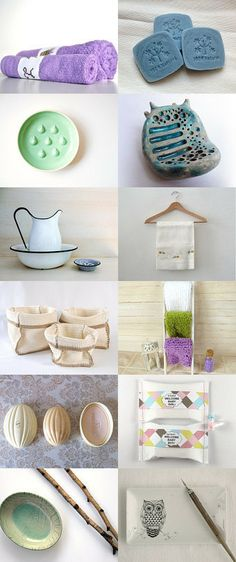 relax in the bathroom by lamiss from Artistichousewife on Etsy--Pinned with TreasuryPin.com