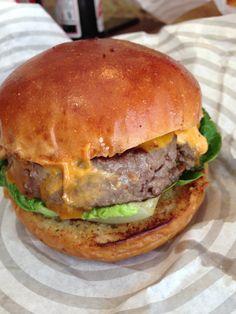 Patty & Bun Ari Gold Burger #burger