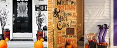 20 Fun and Spooky Halloween Porch Decorating Ideas        There is no better way to give your home the Halloween feel than to welcome guests with anything spooky! No, you do not need to let them scream in fear. Just make them feel that it is indeed just a few days before...