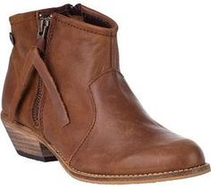 STEVE MADDEN Noww Ankle Boot Cognac Leather on shopstyle.com