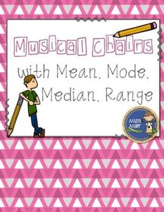 Mean, Mode, Median, Range Musical Chairs