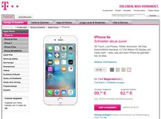 AB SOFORT: iPhone 6S Verkauf bei Telekom gestartet - https://apfeleimer.de/2015/09/ab-sofort-iphone-6s-verkauf-bei-telekom-gestartet - iPhone 6S bei Telekom ab sofort erhältlich! Wieder einmal legt die Deutsche Telekom einen Frühstart hin und kommt dem Apple Store aber auch O2 und Vodafone beim Verkauf des neuen Apple iPhone 6S zuvor. Ab sofort kann das neue iPhone 6S und iPhone 6S bestellt werden – allerdings nur beim K...