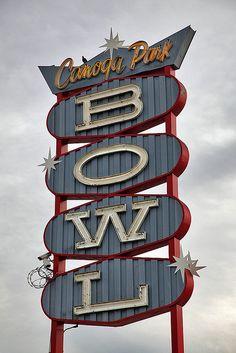 Canoga Park Bowl...Los Angeles, California