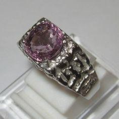 Cincin Silver Spinel Ring 9US
