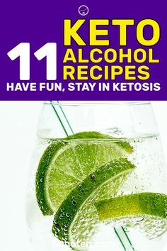 Being on the ketogenic diet might be tough for those of you that enjoy a few drinks from time to time. However, you can drink on the diet. Here are 11 keto alcohol recipes that are going to help you stay in ketosis.