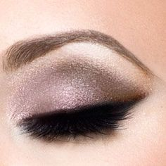 Recreate this look with Younique's Splurge cream eye shadows in Dainty, Tenacious, and Elegant!