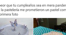 Drama en su cumpleaños: encarga una tarta y el desastre que recibe triunfa como nunca en Twitter