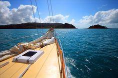 This view could be yours. #sailing #whitsundays #boat