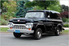 1958 Ford Panel Truck Maintenance/restoration of old/vintage vehicles: the material for new cogs/casters/gears/pads could be cast polyamide which I (Cast polyamide) can produce. My contact: tatjana.alic@windowslive.com